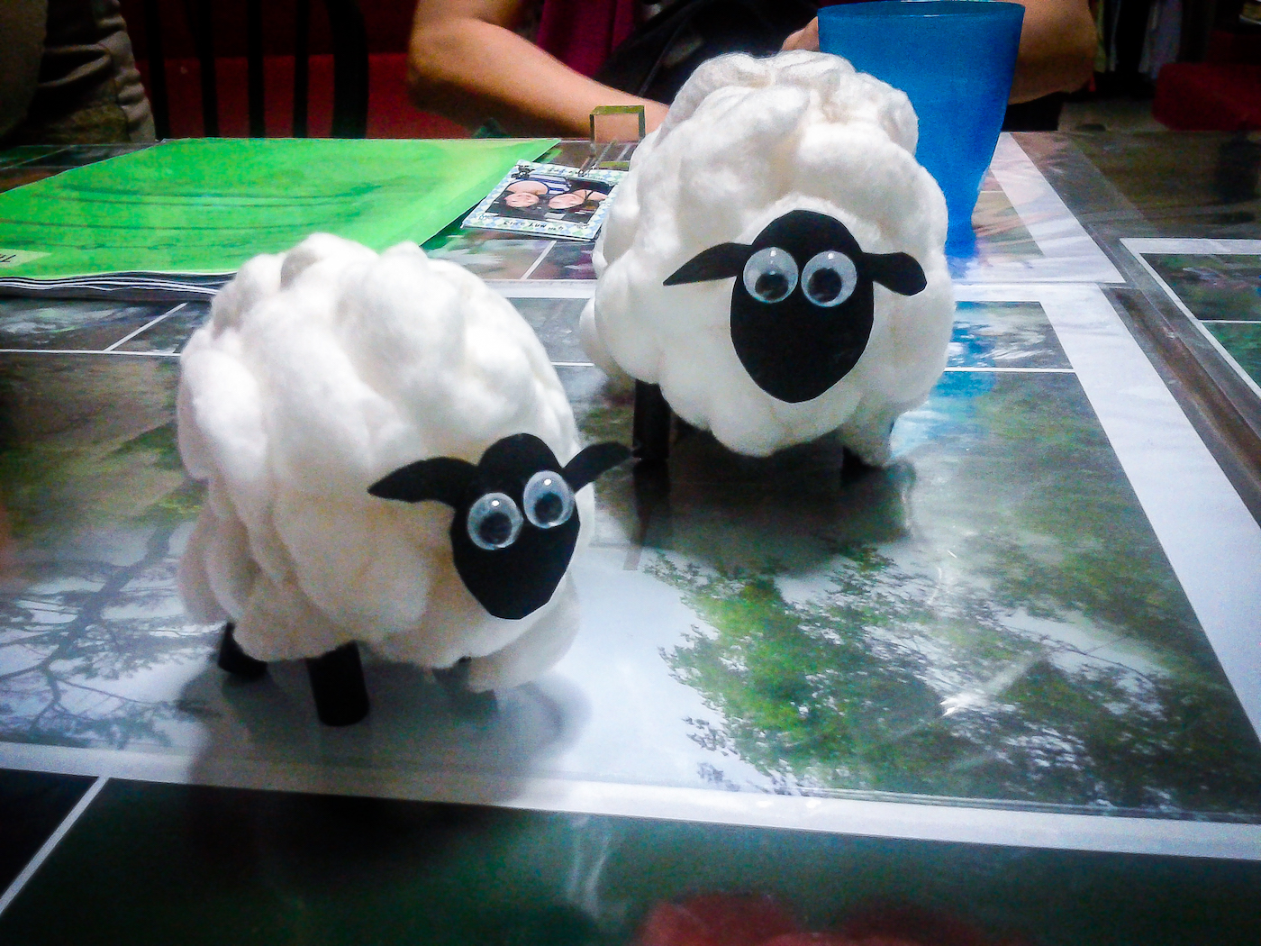Easy craft lamb the goodseed blog for Cain and abel crafts